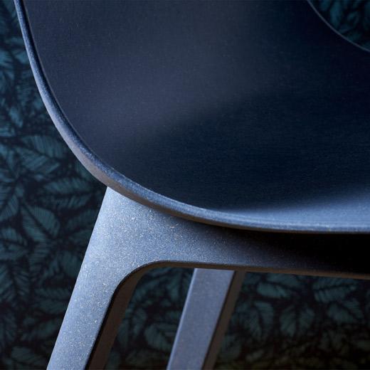 TOKYO dining chair new design dark blue