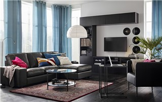 Modernize with clean-lines and leather