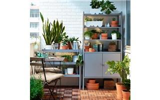 Balcony organizers for the urban gardener