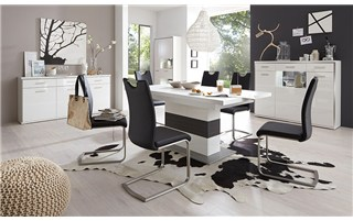 ANTHRACITE & WHITE - MODERN LIVING