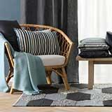 Livingroom textiles & rugs