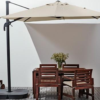 Umbrellas & wind/sun shields