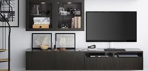 Living room storage system