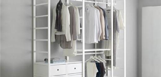 Open wardrobe system