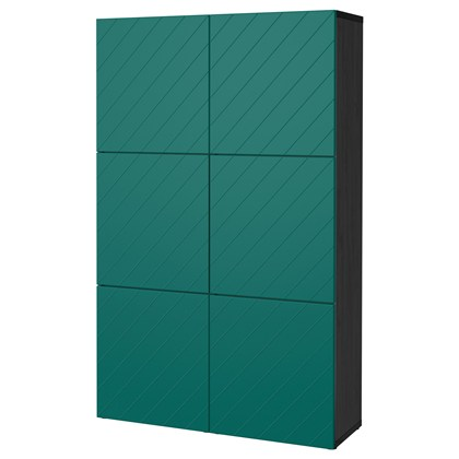BESTA Storage combination with doors