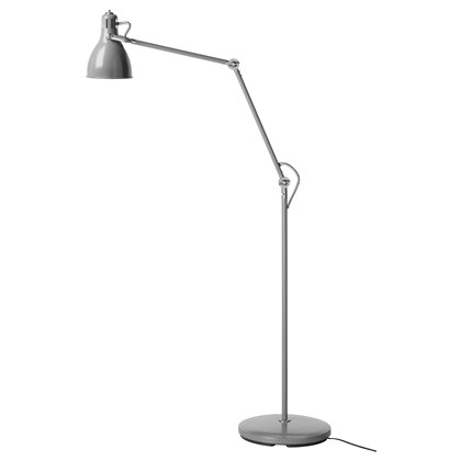 ARODO Floor/reading lamp with LED bulb