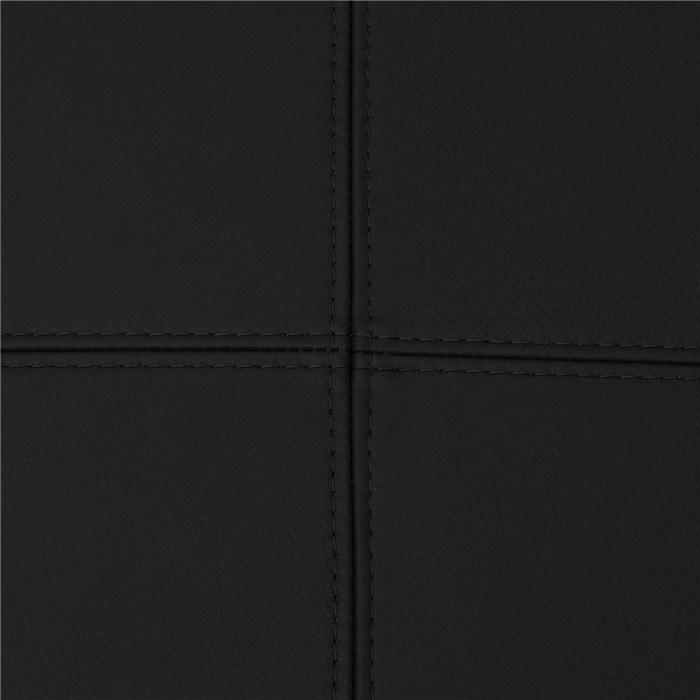 Black, genuine leather