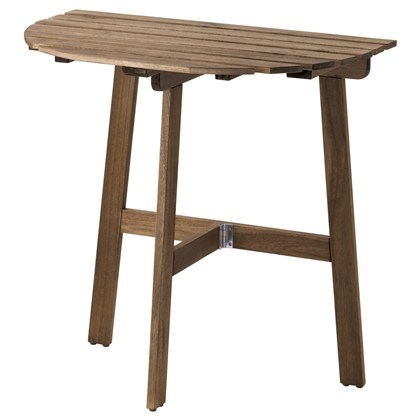 FALHOLMEN Table for wall, Outdoor