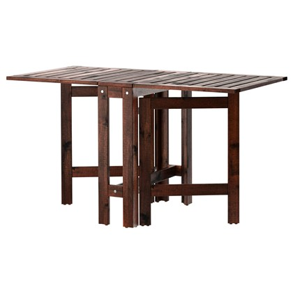 APPLARO Gateleg table, outdoor