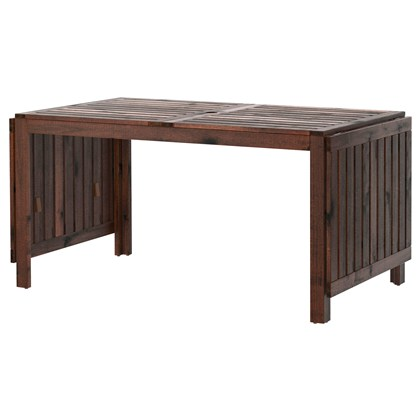 APPLARO Drop-leaf table, outdoor