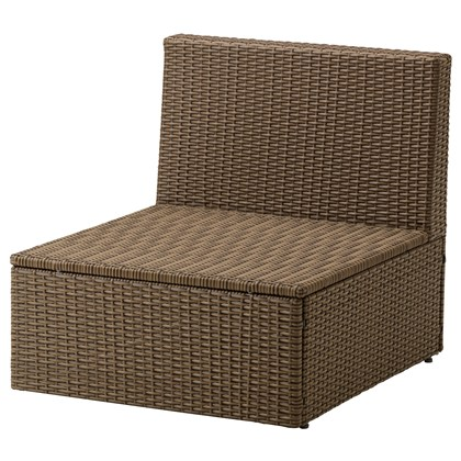 ARHOLMA One-seat section, outdoor