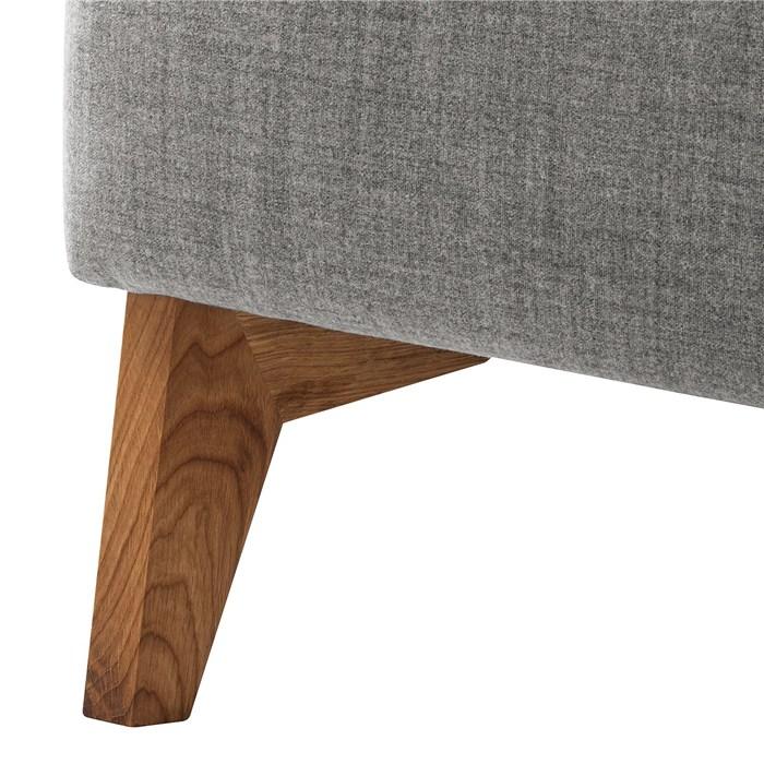 Gray, oak legs