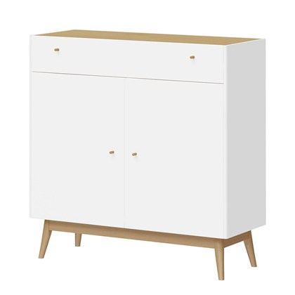 MONTEO Sideboard White, Oak
