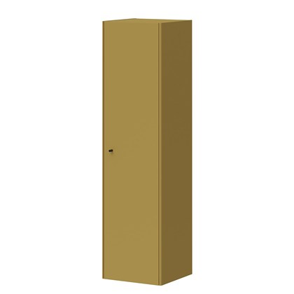 MONTEO Wall cabinet Olive Yellow, Steel legs