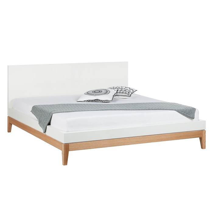 Linputin Bed Frame White Oak Legs 160 X 200cm Full Queen And King Beds Furniture Factories Suppliers Manufacturers In Asia Vietnam Cainver