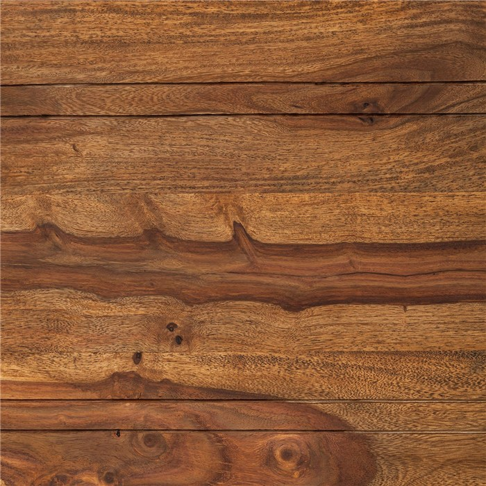 Sheesham solid wood, stained