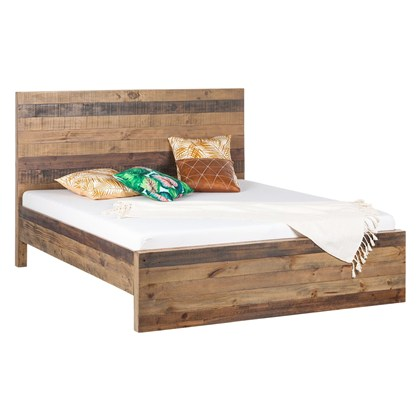 Solid wood bed frame TAMATI