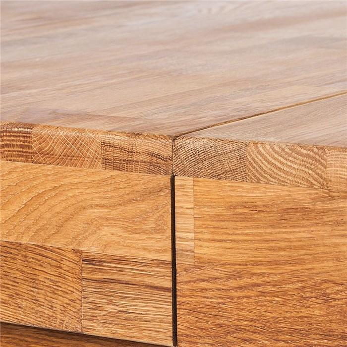 Solid oak, brown oak