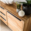 Solid wood oak, metal