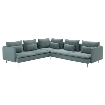 SODERHAMN Sectional sofa, 5-seat