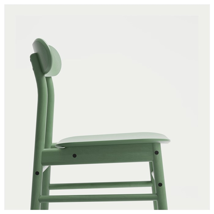 Solid wood, Light green