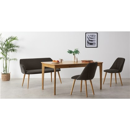 LULE compact dining bench