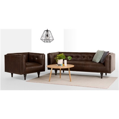 CONNOR 3 seats sofa, premium leather