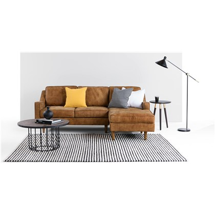 DALLAS right hand facing chaise end corner sofa
