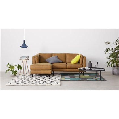 LINDON left hand facing chaise end corner sofa,