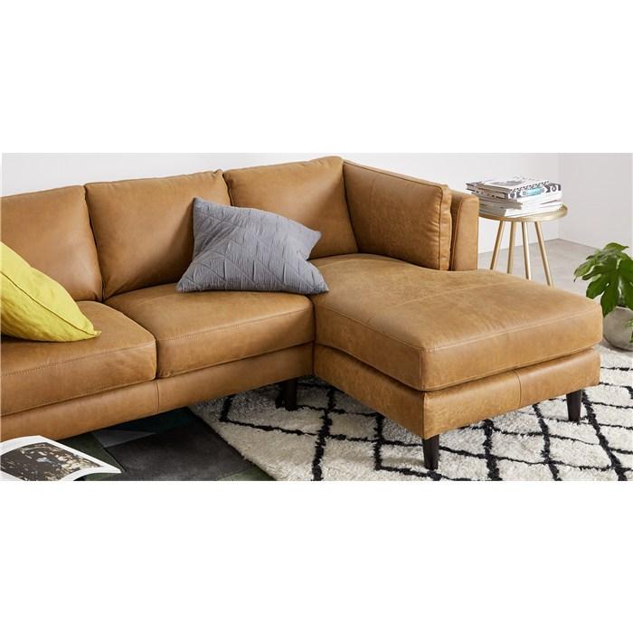 Brown premium leather