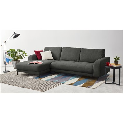 LUCIANO left hand facing chaise end corner sofa,