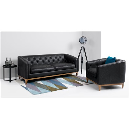 ROGERS 3 seats sofa, premium leather