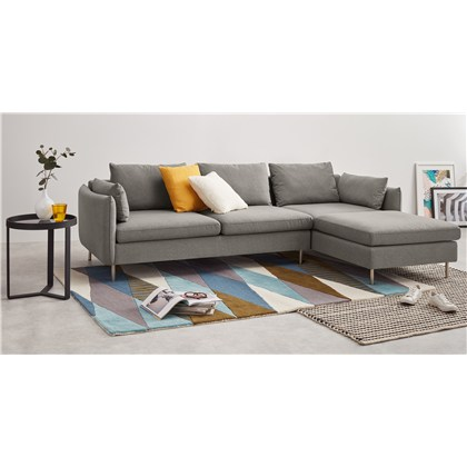VENTO right hand facing chaise end corner sofa