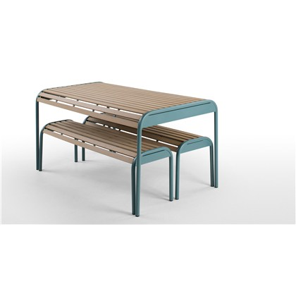 MEAD garden outdoor bench set