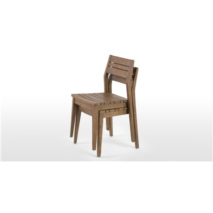 AARON outdoor dining chair set.