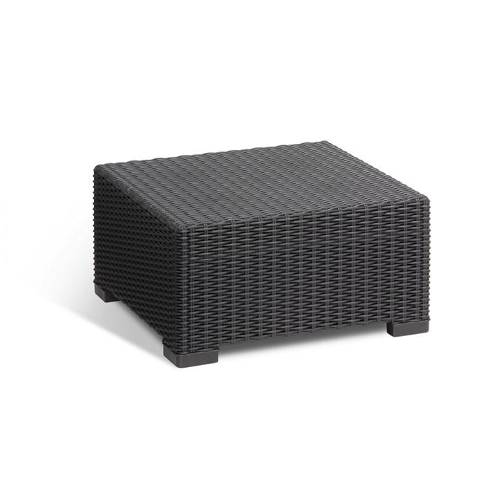 Polyrattan, 7 seats, black