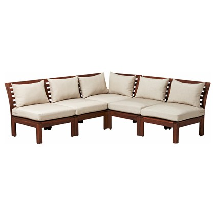 APPLARO 5 seats sectional