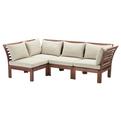 APPLARO 4 seats sectional