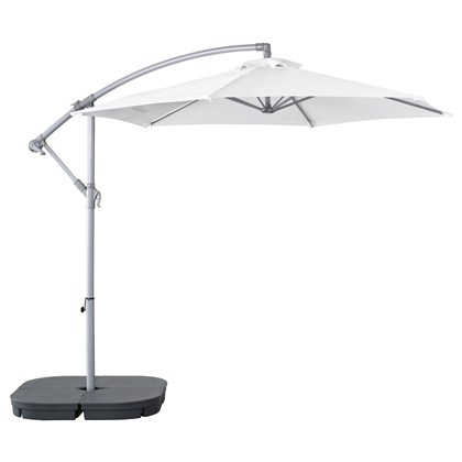 BAGGON and SVARTO umbrella with base