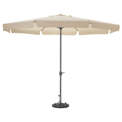 LJUSTERO umbrella with base