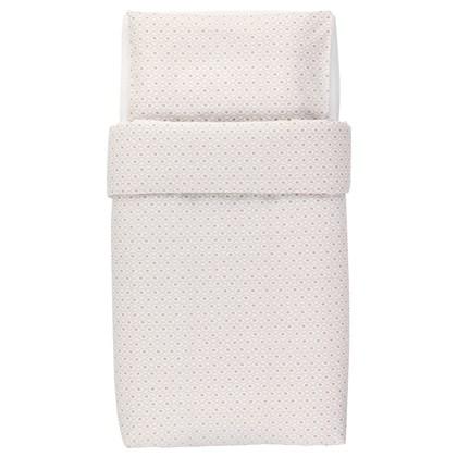 HJARTEVAN crib duvet cover and pillowcase