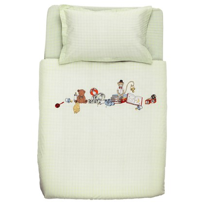 NANIG 4-piece bedlinen set