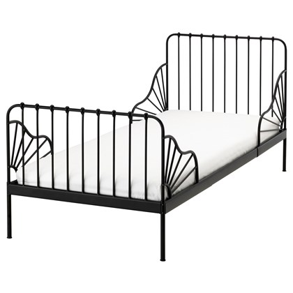 MINNEN extended bed frame with slatted bed base