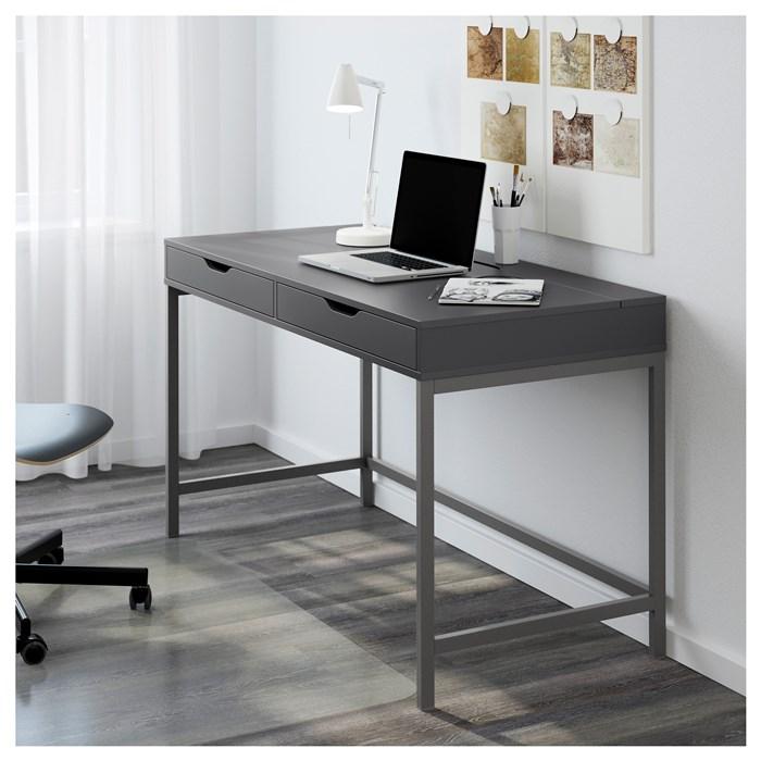 Gray color, metal legs