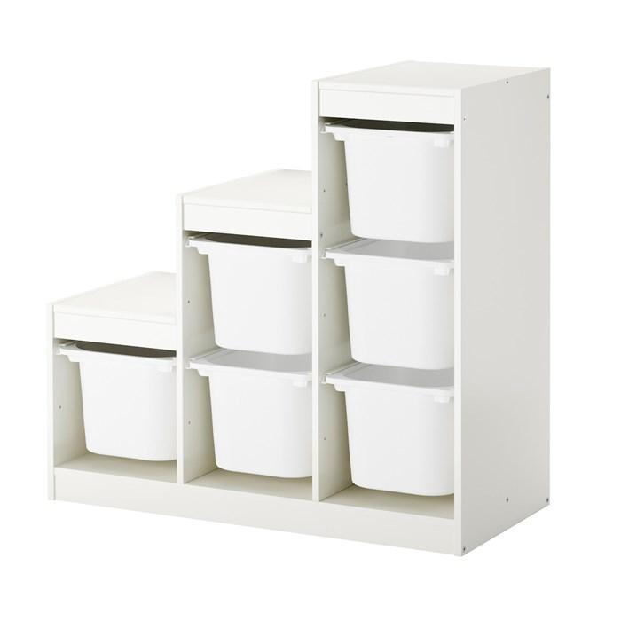 White frame - white boxes