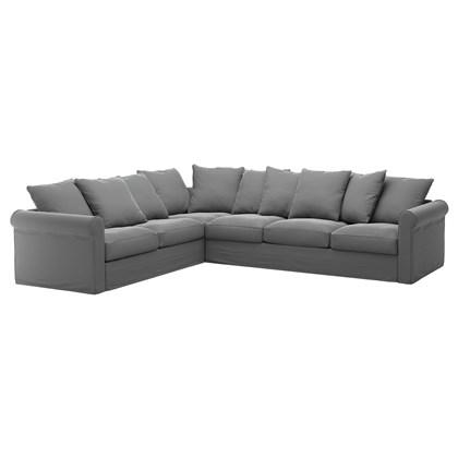 GRONLID Sectional sofa, 5-seat corner