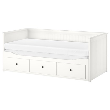 HENESY Daybed frame with 3 drawers