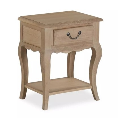 ASCOT Single Drawer Bedside Cabinet
