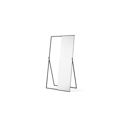 HUGIN freestanding mirror clothes rail