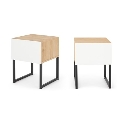 HOPKINS Set of 2 Bedside Tables